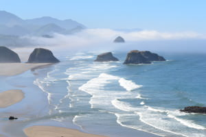 Public beaches in Oregon