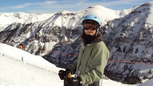 "Telluride a few years back. Run is called ""See Forever"""