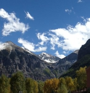 View from downtown Telluride