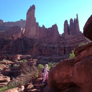 Moab Fisher Towers