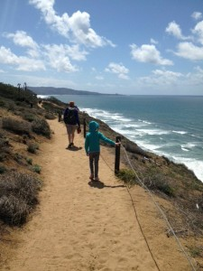 Hike in Torry Pines
