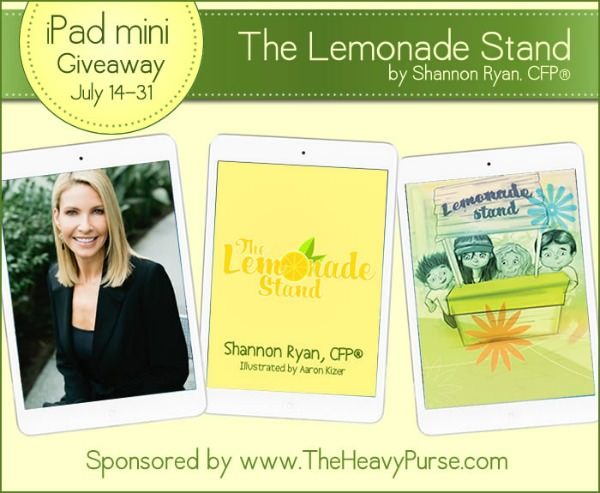 Lemonade Stand book and iPad giveaway