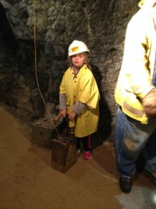using dynamite in gold mines