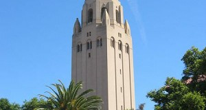 Hoover Tower at expensive Stanford University