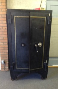 Herring Hall Marvin antique safe