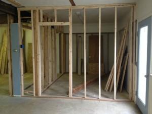 remodeling a rental fourplex