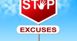 Don't let excuses keep you from goals
