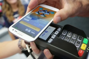paying with a smart phone