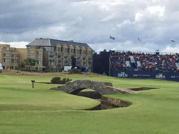 golf at the Open St. Andrews